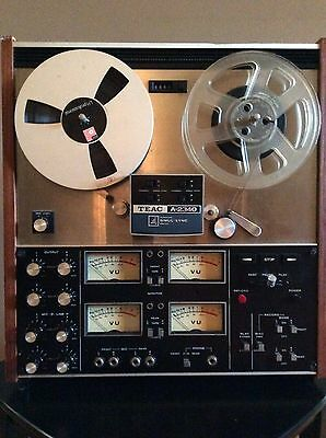 Teac A-2340 4 Track Reel to Reel Recorder
