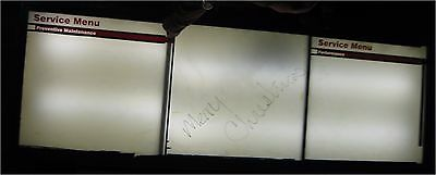 Lighted Automotive Behind Counter Menu Sign