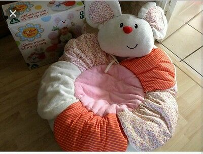 ELC Sit me up cosy mouse with box