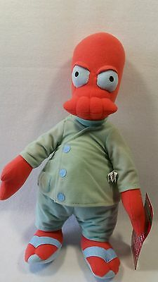 """Futurama Dr.zoidberg From 2014 New By Toy Factory 15"""" New"""