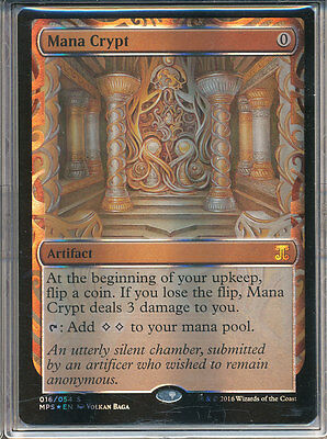 MTG Masterpiece Series - Kaladesh Inventions - Mana Crypt Near Mint NM
