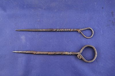 Two Antique Spanish Colonial Awls Artifacts • CAD $378.00