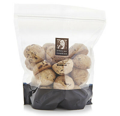 Byron Bay Milk Choc Chunk Cookies - 24 x 30g - Extra Items Sent Free
