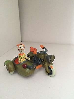 Noddy Character Goblin Gobbo With Goblins Bike And Side Car