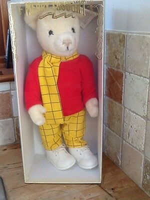 Boxed Merrythought Limited Edition Rupert Bear 18 Inches High