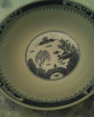 Chinese. ?  Porcelain  oriental  bowl