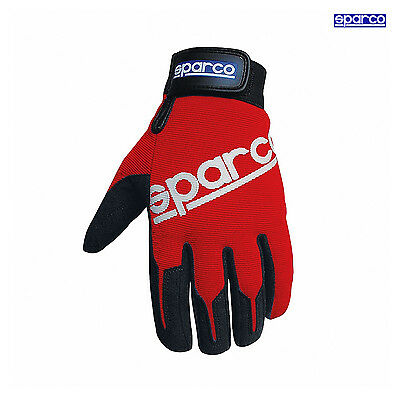 Sparco Mechanic Gloves MECA-2 red s. 10