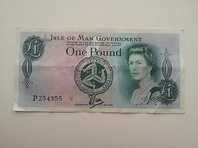 Isle of Man 1 Pound banknote 1983 Circulated