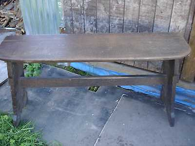 Victorian Old Oak Bench