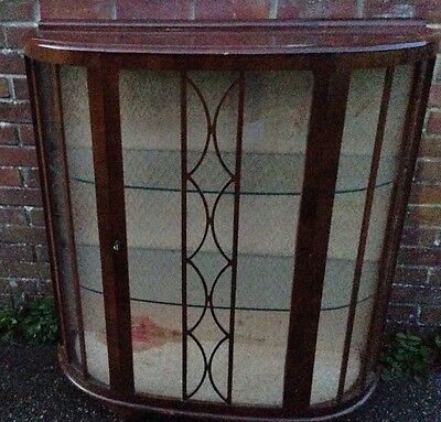 china cabinet Display Cabinet 1970's