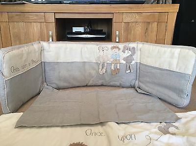 Mamas And Papas Once Upon A Time Baby Boys Bumper, Coverlet And Pillowcase Set