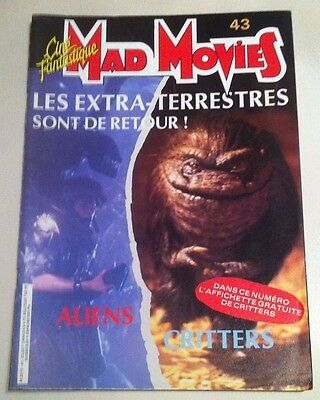 Mad Movies N°43  -  Alien, Critters.