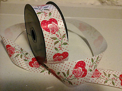 Job Lot (39 Items Rrp £60) Valentine Heart Ribbon Gift Pull Bows Flower Bouquet