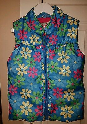 girls body warmer/gilet M&S 6-7years 122cm