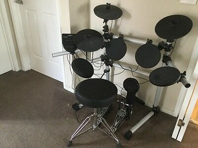 Mastercraft MCDD 403 7 Piece Electronic Drum Kit With Stool