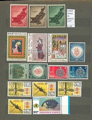 Stamps Lot Pakistan   Mnh**  (L12879)