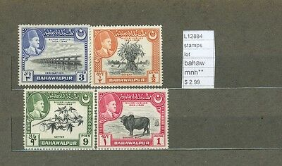Stamps Lot Bahawalpur   Mnh**  (L12884)