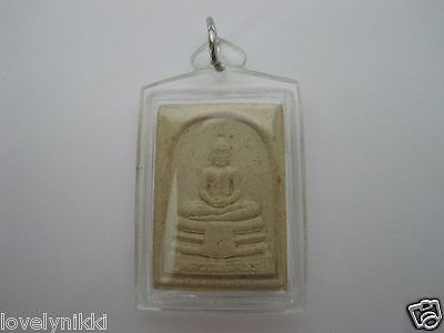 Beautiful Lp Sothorn Buddha Thai Amulet Pendant Lucky Money + Free Shipping