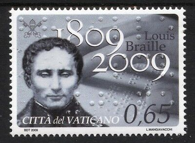 [Vo198]  Vatican City 2009 Louis Braille Issue MNH