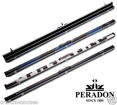 1pc Halo Snooker Cue case by Peradon - Slim Aluminium case. Holds cues to 59.5""