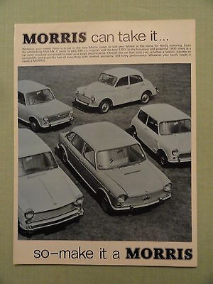 MORRIS sales brochure..all models.