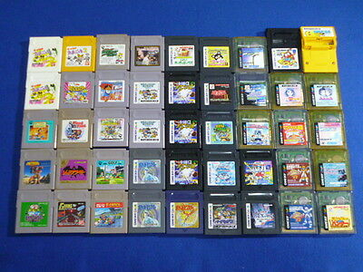 WHOLESALE Lot of 45 JAPAN Nintendo Game Boy & Color Japanese Pokemon etc Used