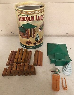 The Original Lincoln Logs: Winter Woodlands (99%Complete)