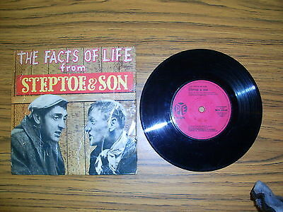 """The Facts Of Life From Steptoe & Son (Pye 1963) 7"""" EP"""