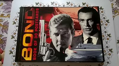 James Bond Book Of 30 Postcards 3 Of 10 Designs Colour And Black & White
