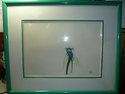 1977 Disney Production Cel, The Rescuers, Framed,  Original Evinrude  DRAGONFLY
