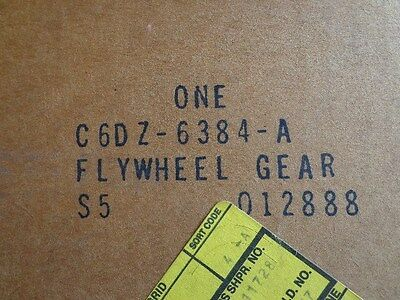 1966 - 1983 Ring Gear 200 cid  6 Cyl Ford Mustang Falcon Comet C6DZ-6384-A OEM