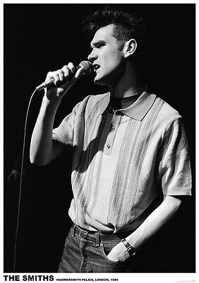 """The Smiths Morrissey On Stage London 1984 Poster  23.5"""" x 33"""" UK import"""