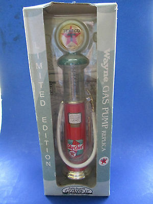 Gearbox Limited Edition 1997 Wayne Texaco Gas Pump Replica In The Box