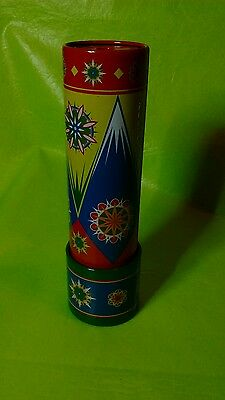 schylling painted tin Kaleidoscope toy