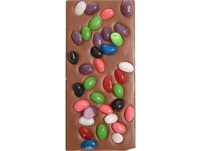 Jelly Beans Chocolate Block - Freckleberry Brand Individually Wrapped