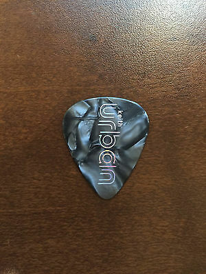 COUNTRY MUSIC - KEITH URBAN Guitar Pick 2016 RipCord - GREY GRAY Marble