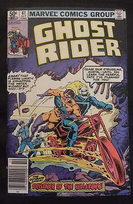 Ghost Rider Comic Book Issue #61 1981 Marvel Comics Group
