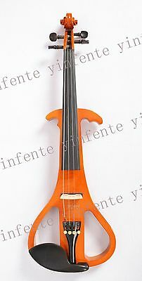 "New 16"" Electric viola Nice Sound silent Solid wood ebony parts peg good #3-01"