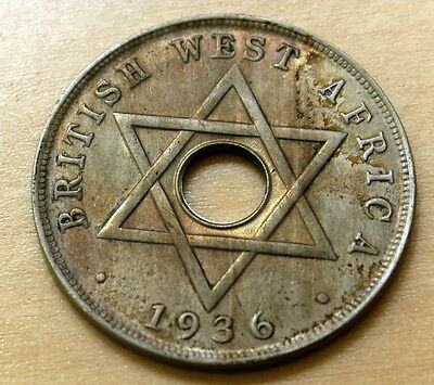 1936 H British West Africa 1 Penny