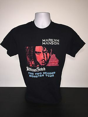 Marilyn Manson/Tim Minchin Two Headed Monster Tour Shirt-Adult M + FREE S&H