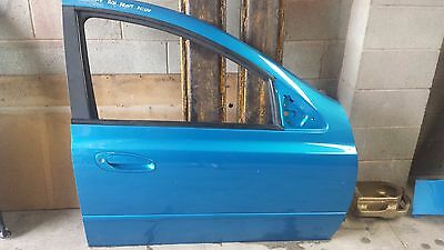 Ford Ba Xr6 Falcon R/hand Front Drivers Door Shell  Paint Code : Uu  Blue