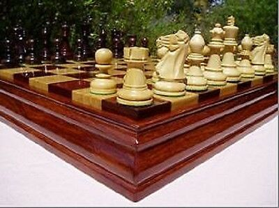 Custom Made Chess Set -  Quality Board and Pieces