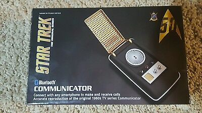 Star Trek: TOS Bluetooth Communicator - Cell Phone Handset and Speaker -wand co