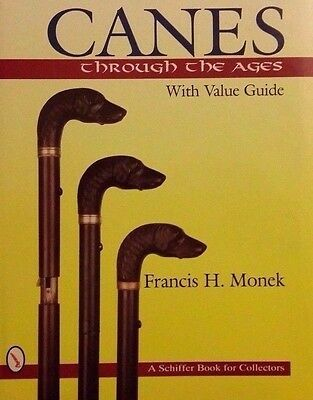 Walking Cane Value Guide Collector's Guide Walking Stick Weapon Accessory Tool