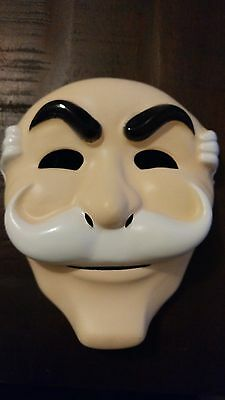 MR ROBOT mask! - fsociety hacker - EVIL Corp anonymous FREE US SHIPPING