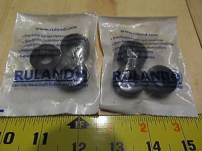 Ruland Manufacturing Shaft Collars (2 bags of 3) Model # SC-8-F/3PK