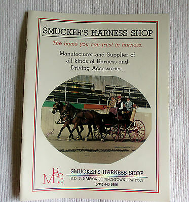 Smucker's Harness Shop Catalogue Equine Accessories 1985-1986 Churchtown, PA