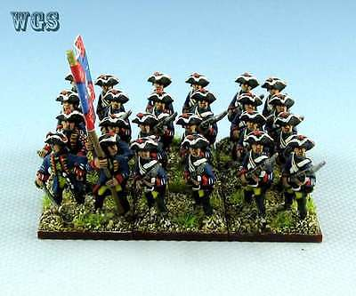 15mm SYW Seven Years War WGS painted Prussian Musketeer Btln Pa7