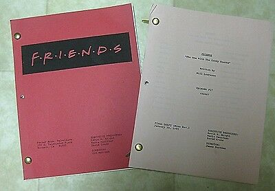 Friends Original Script From Season 1: The One With The Candy Hearts Plus Bonus