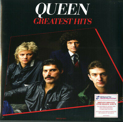 Queen Greatest Hits 1 remastered 180gm vinyl 2 LP +download, gatefold NEW/SEALED